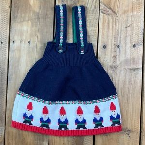 Hanna Anderson Gnome Dress 6-12 months